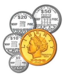 Liberty Dollar monētas