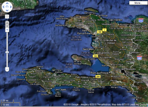 Haiti karte