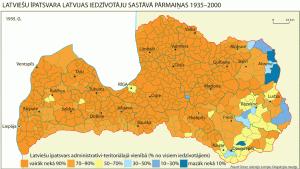 Latvijas etniskais sastāvs 1935. g.